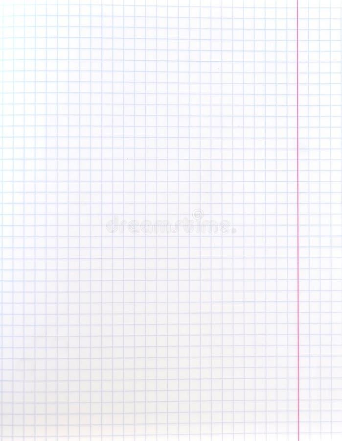 Белый допустимый предел красного цвета текстуры листа приданной квадратную форму бумаги стоковые фотографии rf