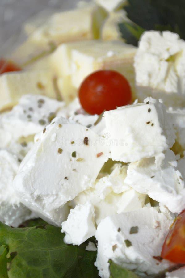 Белый сыр коровы стоковое изображение rf