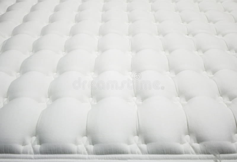 Белый тюфяк стоковая фотография