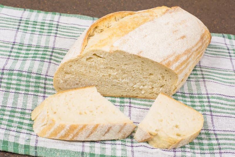 Белый хлеб пшеницы стоковая фотография