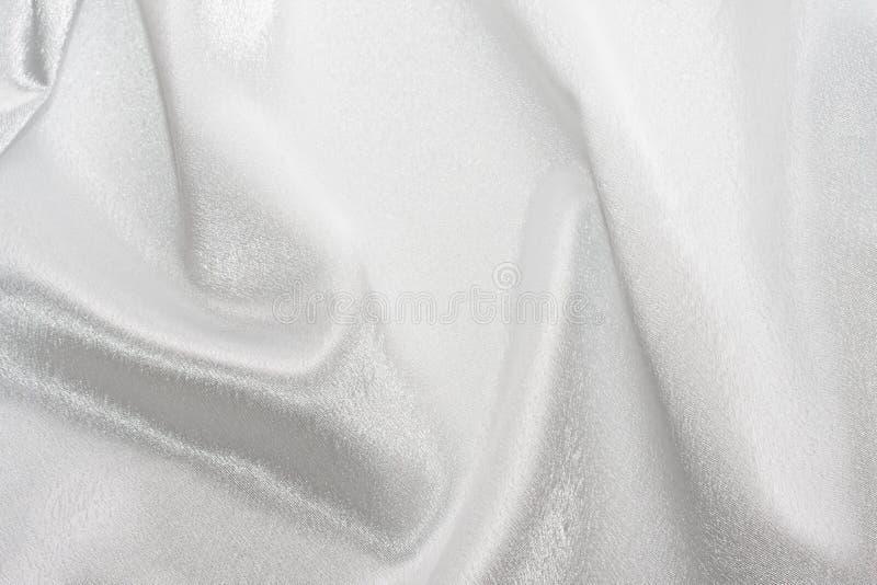 Белый шелк стоковая фотография rf