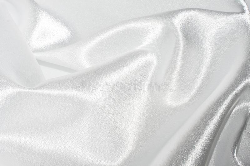 Белый шелк стоковые изображения rf