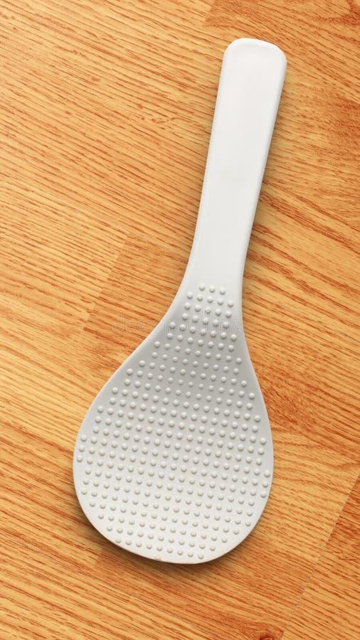 Белый шпатель стоковое фото