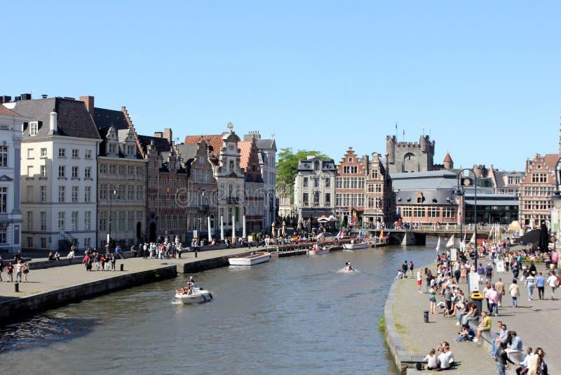 Бельгия ghent стоковое фото