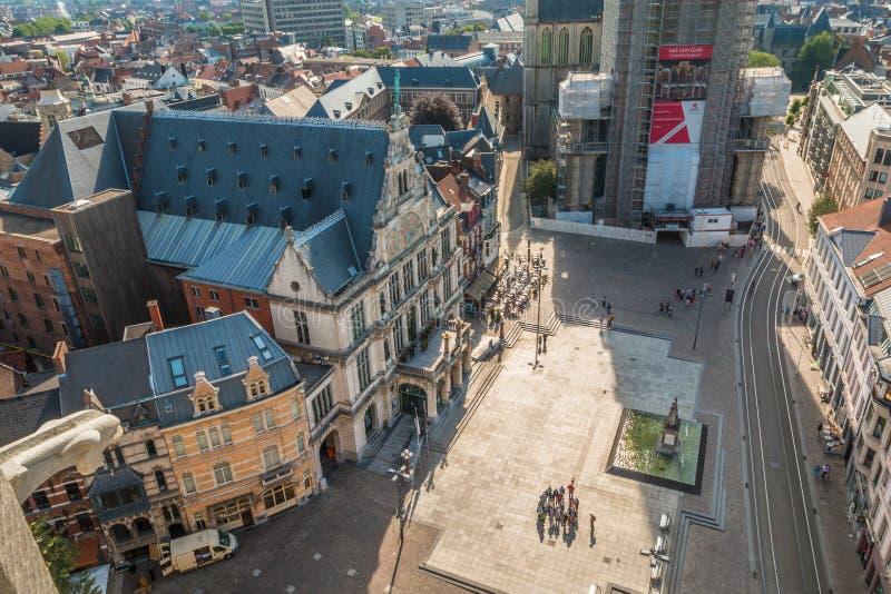 Бельгия ghent стоковое изображение rf