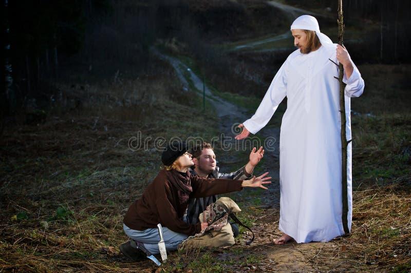 библейский человек учеников стоковые фото