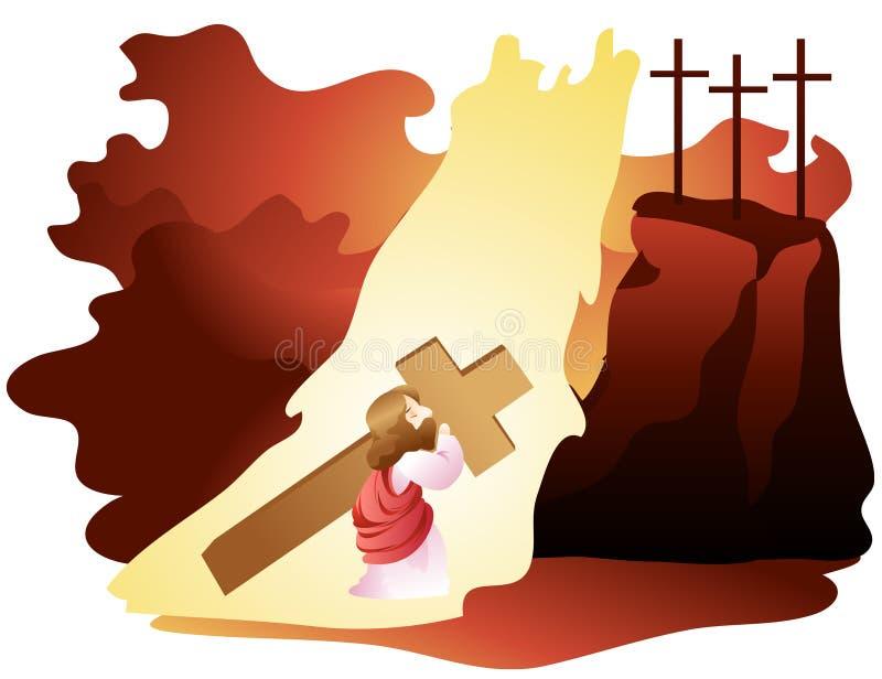 библейское выражение иллюстрация вектора