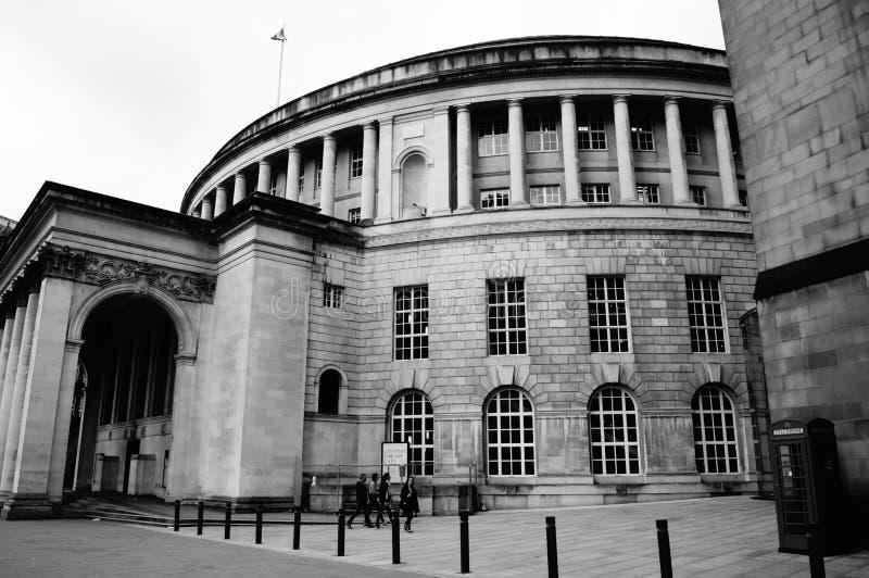 Библиотека 3 Манчестера центральная стоковое изображение