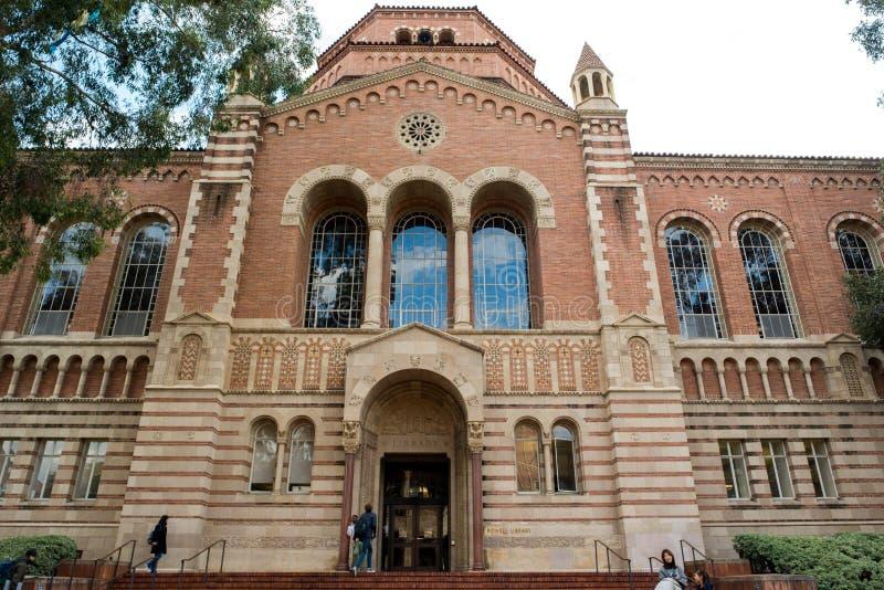 Библиотека Пауэлл на UCLA стоковые изображения rf