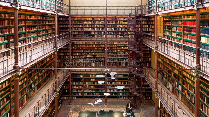 Библиотека Rijksmuseum стоковые изображения rf