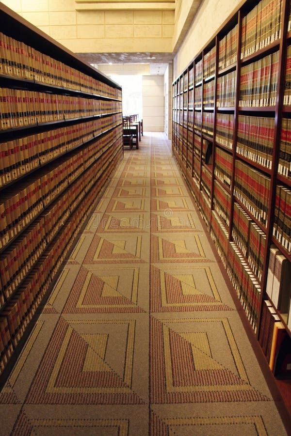 Библиотека закона стоковая фотография rf