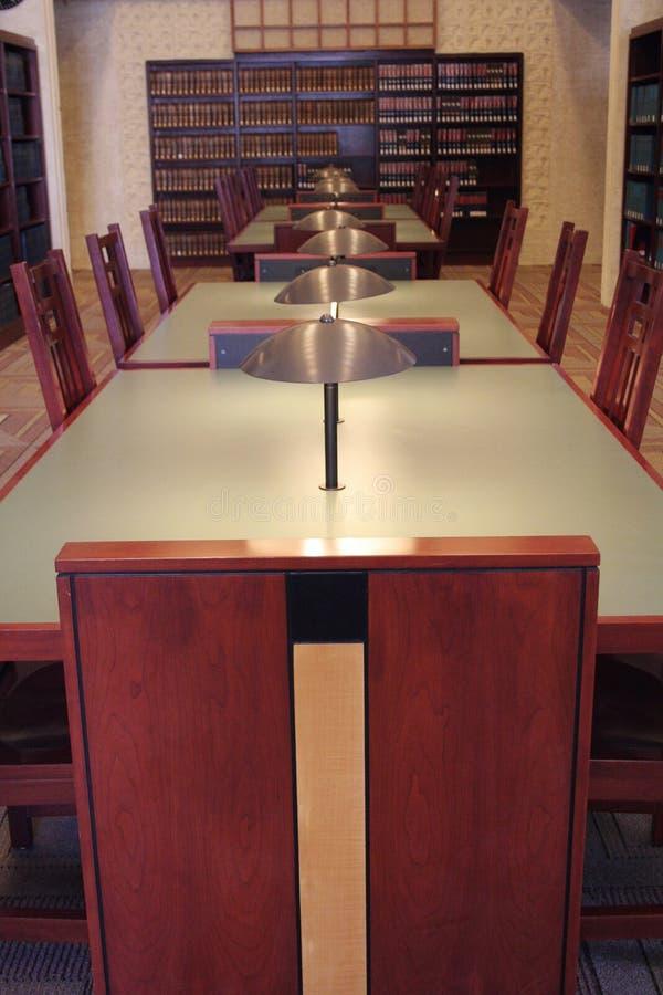 Библиотека закона стоковое изображение rf