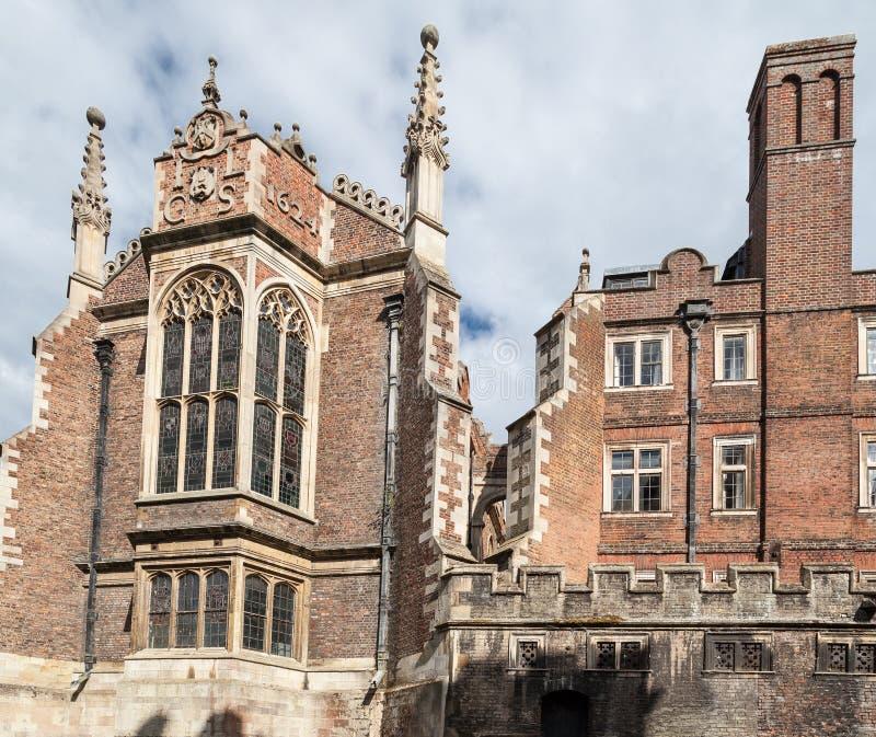 Библиотека Кембридж Англия крапивниковые стоковая фотография rf