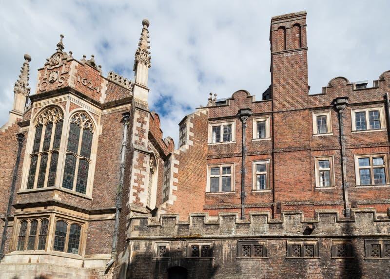 Библиотека Кембридж Англия крапивниковые стоковая фотография
