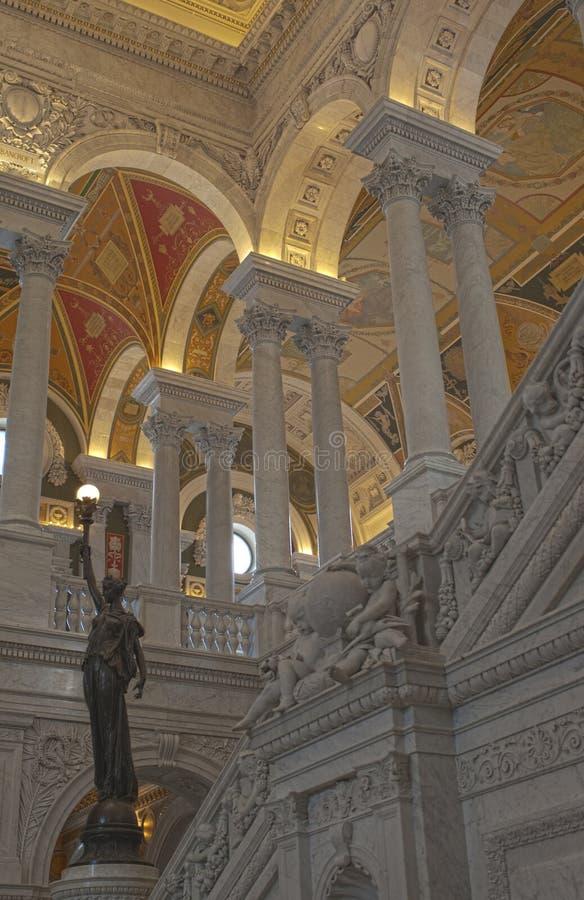 Библиотека Конгрессаа стоковая фотография rf