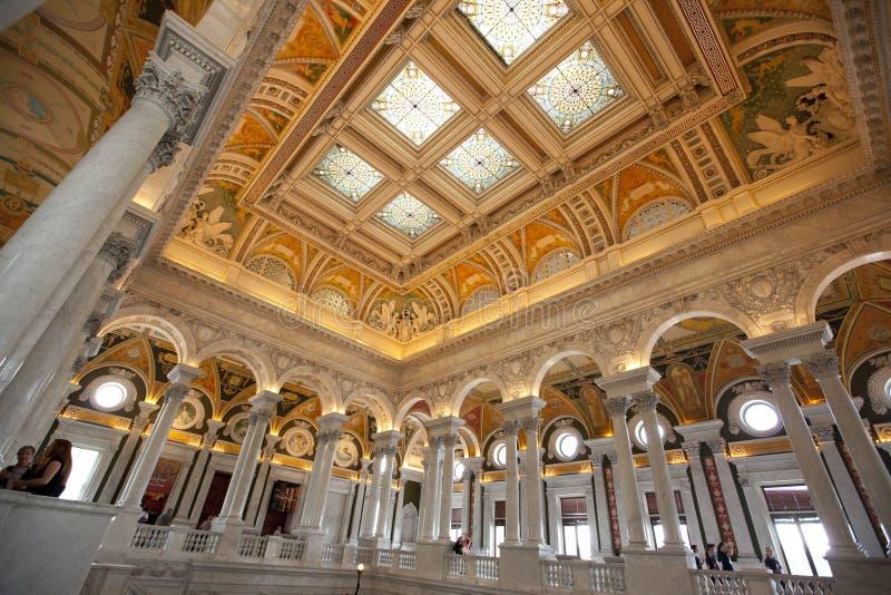 Библиотека Конгресса стоковые изображения rf