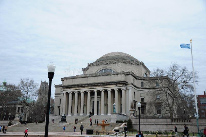 Библиотека Колумбийского университета Нью-Йорка стоковая фотография