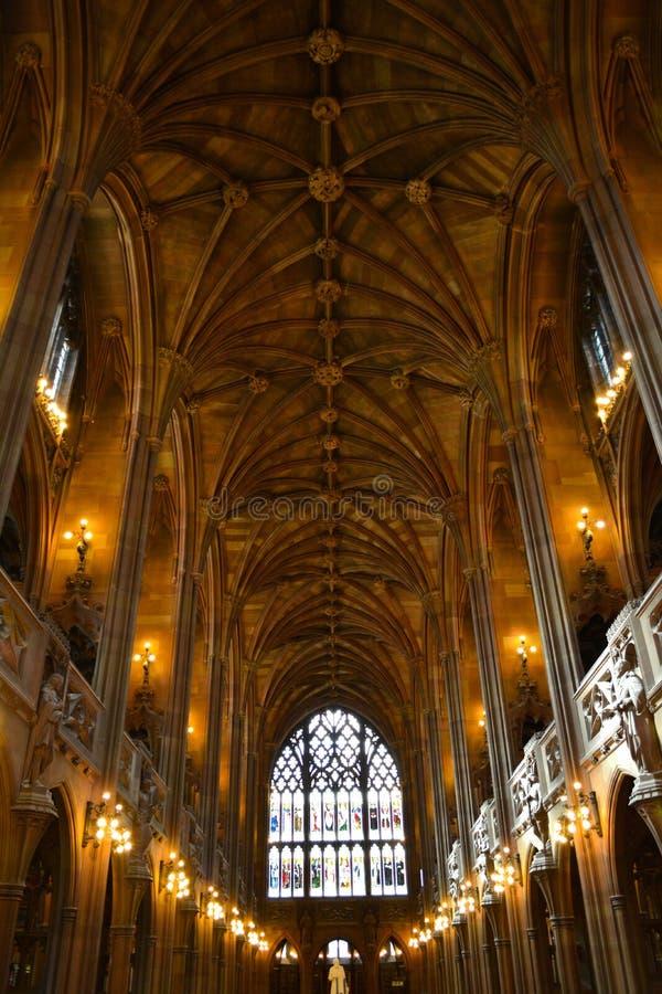 Библиотека Манчестера стоковые изображения rf