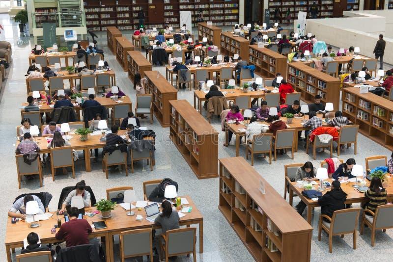 Библиотека провинции Цзилиня стоковое фото rf