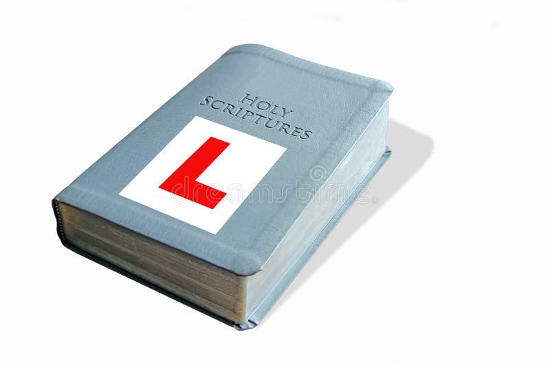 Библия учащийся стоковые изображения rf