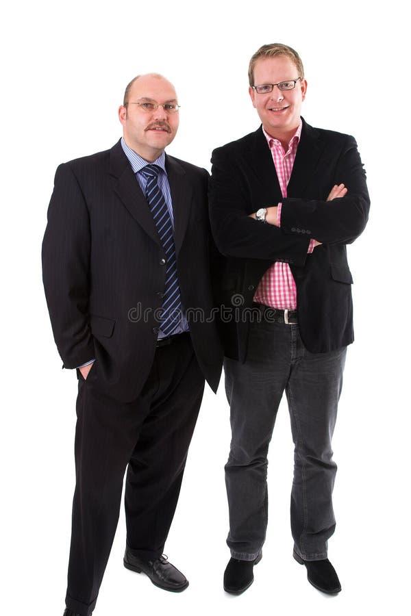 бизнесмены вскользь одетьли стоковое изображение