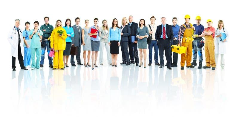 Бизнесмены команды стоковая фотография
