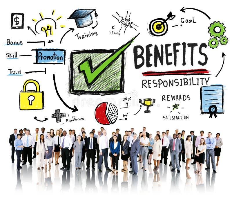 Бизнесмены концепции дохода заработка выгоды увеличения преимуществ стоковые фото
