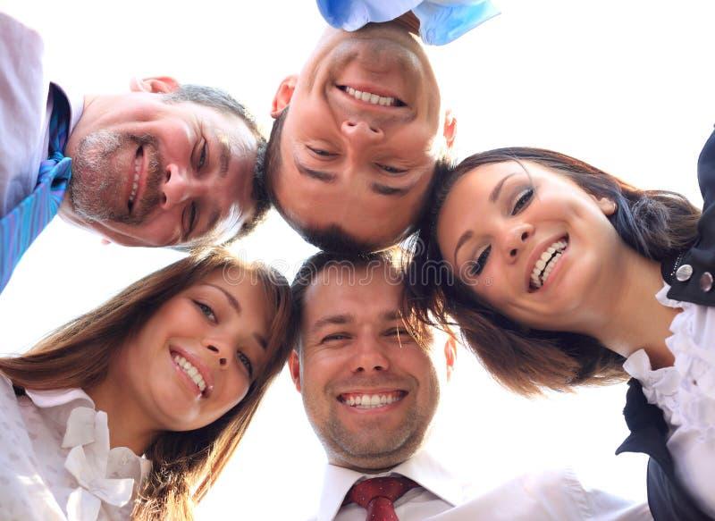 Бизнесмены с их головками совместно стоковые фото
