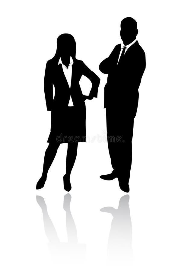 бизнесмены иллюстрация штока