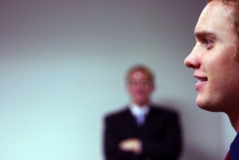 бизнесмены 2 стоковое изображение