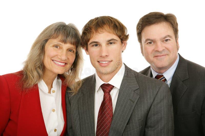 бизнесмены 3 стоковое фото