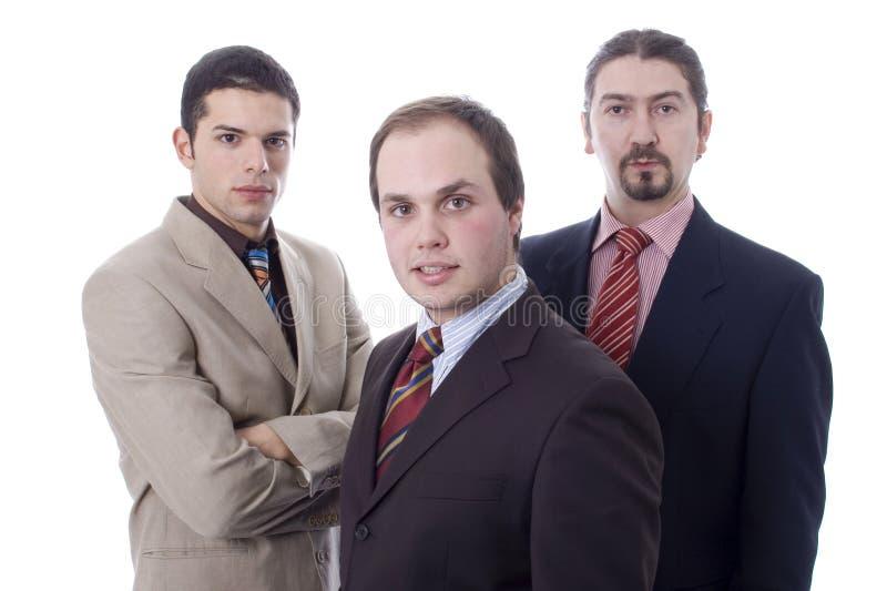 бизнесмены 3 стоковое фото rf