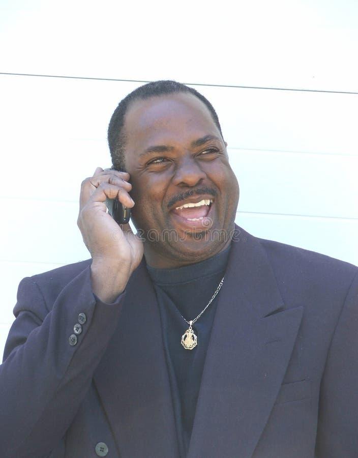 бизнесмен афроамериканца стоковое изображение rf