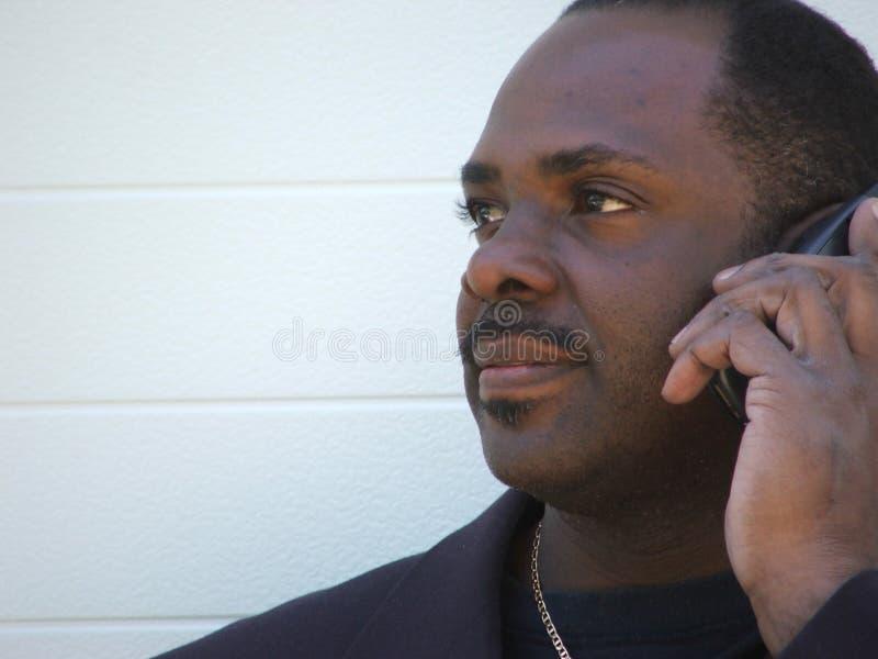 бизнесмен афроамериканца стоковая фотография rf