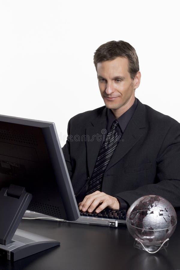 бизнесмен гловальный стоковые изображения rf