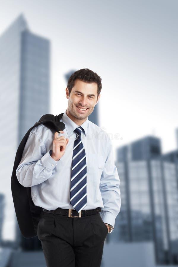 бизнесмен жизнерадостный стоковые фото