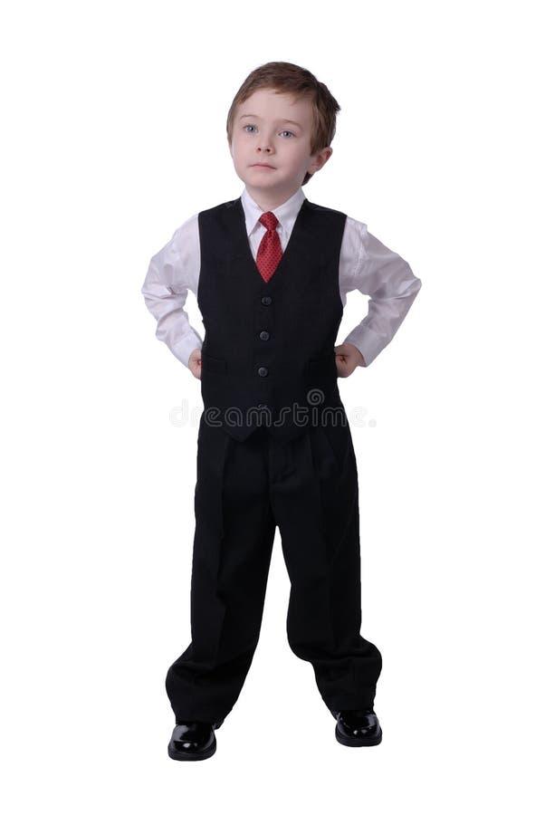 бизнесмен мальчика стоковые фотографии rf