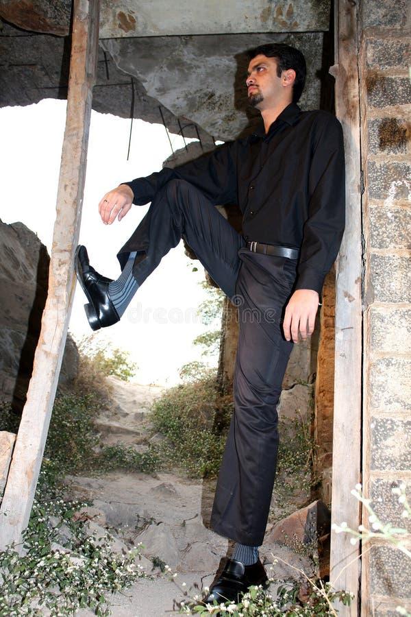 бизнесмен несчастный стоковое фото