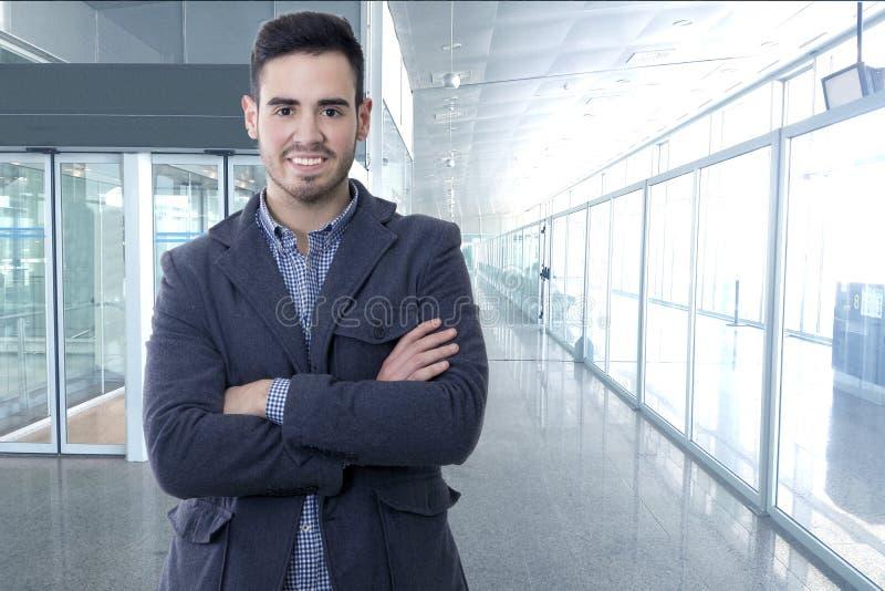 Бизнесмен, портрет стоковое фото rf