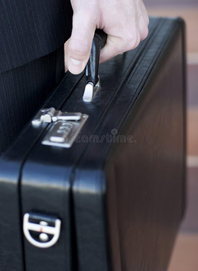 бизнесмен портфеля стоковое фото