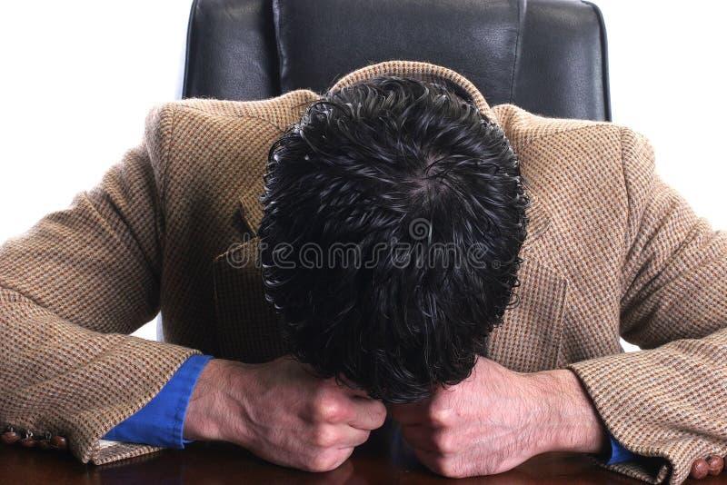 бизнесмен потерпел неудачу стоковое изображение rf