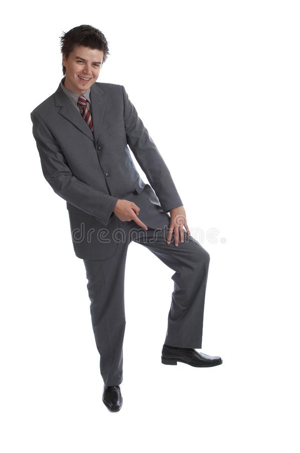 Бизнесмен (серии) стоковые фото