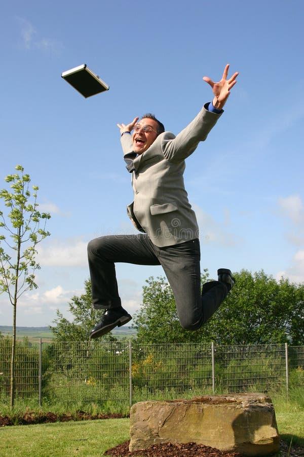 Download бизнесмен счастливый стоковое фото. изображение насчитывающей шально - 475068