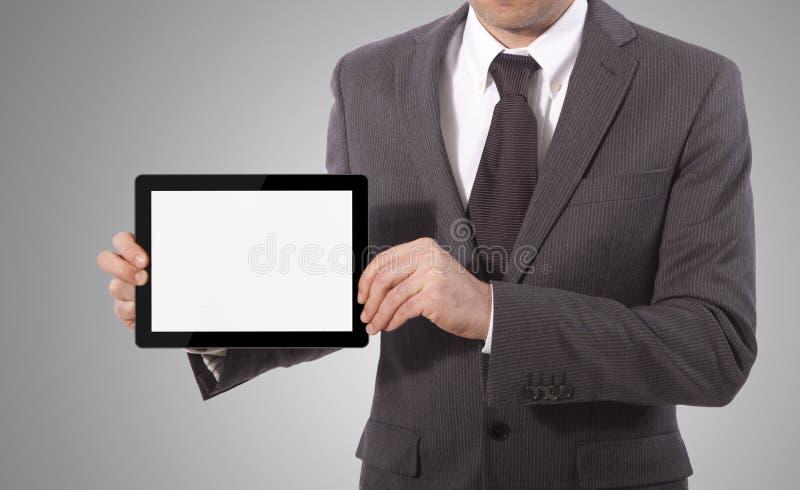 Принципиальная схема таблетки касания стоковое фото