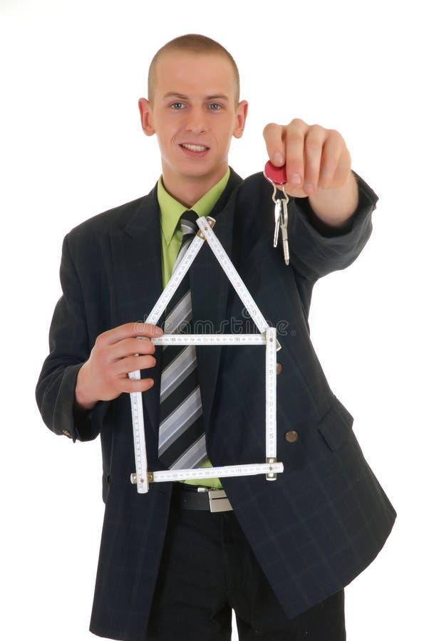 бизнесмен успешный стоковое изображение rf