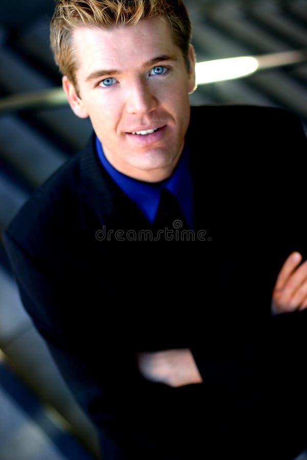 бизнесмен харизматический стоковое фото rf