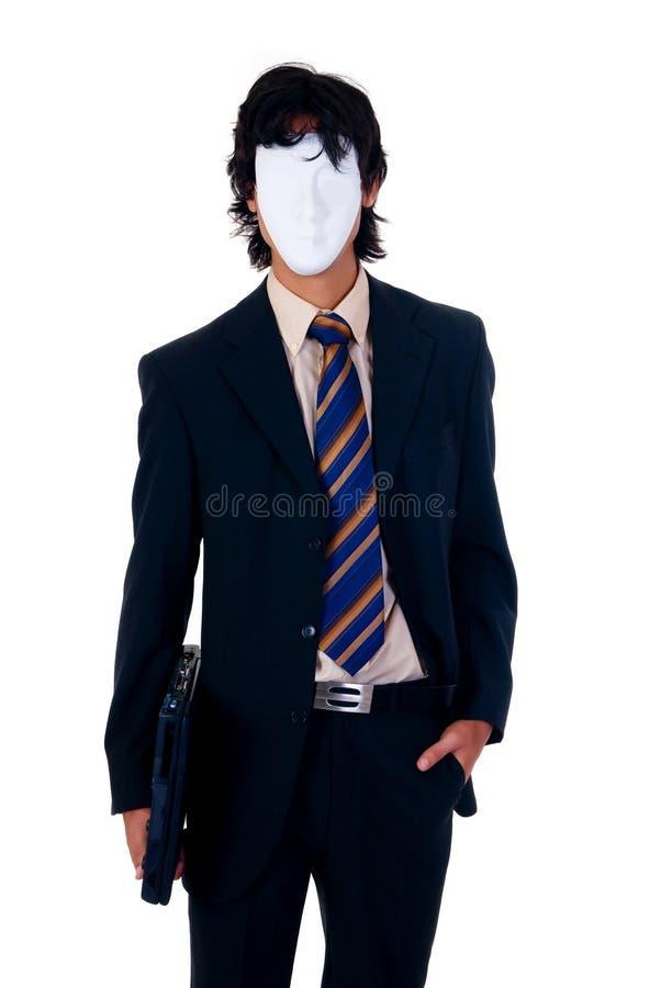 бизнесмен halloween стоковая фотография