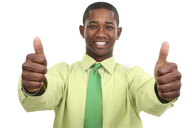 бизнесмен thumbs 2 вверх