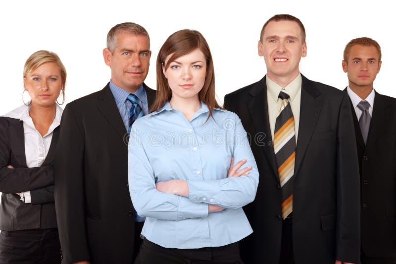 бизнес-группа успешная стоковое изображение rf
