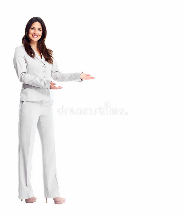 Бизнес-леди. стоковое фото